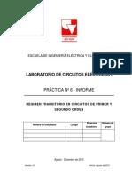 Informe Práctica 6_Régimen Transitorio en Circuitos