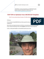ARCHICAD My TOP TIPS to Optimize Your Template Turbocharge Your Practice