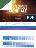 WPDS2018 Fiche de Donnees Sur La Population Mondiale