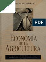 Bejarano, Jesús Antonio. Economía de La Agricultura