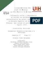 Proyecto_Investigación Sobre Influencia Social en El Consumo de Alcohol