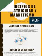 Principios de Electricidad y Magnetismo