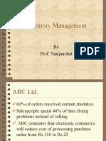 25257825 Inventory Management