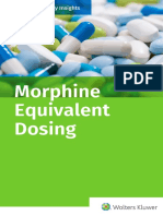 Morphine Equivalent Dosing eBook