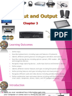 Chapter 3 - Input and Output