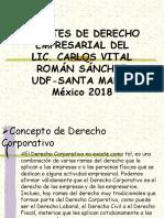Apuntes de Derecho Empresarial CVRS 2018