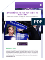 373. Jeffrey Epstein the True Ugly Face of the Occult Elite