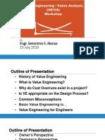 VE Presentation July 15, 2019