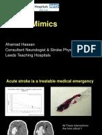 stroke mimik