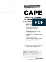Cape pure maths unit 1 rand