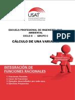 Integracion de funciones racionales