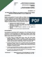 Dict-121. Deposito de Vehiculos Carretera Mexico-Toluca
