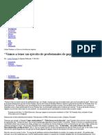 """""""Vamos a Tener Un Ejército de Profesionales de Papel"""" _ CIPER Chile CIPER Chile » Centro de Investigación e Información Periodística"""