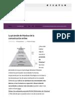 La Pirámide de Maslow de La Comunicación Online _ Uppernet