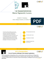 02. CHARIOT 1st Workshop - IoT in Transportation Area