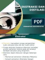 10 - Ekstraksi & Destilasi