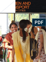 Women and Transport in India