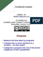 Presentation Time Complexity Analysis