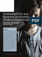 Assessment for and Response to Adverse Childhood Experiences