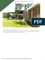 Revista Arquitetura e Construção - Casa de Campo Mergulha Na Paisagem 1