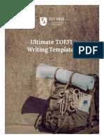 TST Prep - Ultimate TOEFL Writing Templates