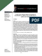 Impact of Securitization Act 2002