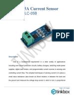 Keyes - Acs712elc-05b 5a Current Sensor Module