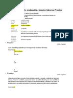 Evaluación Sondeo Previo B-2019