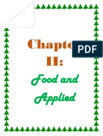 Food and applied