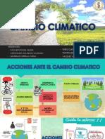Acciones Ante El Cambio Climatico