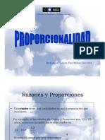 Presentación PROPORCIONALIDAD