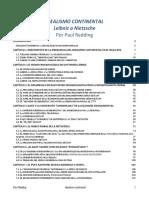 Redding, Paul () Idealismo Continental - De Leibniz a Nietzsche (COMPLETO CON TOC PP NOTAS Y BIBLIO 10 Styled)