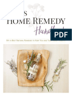 Home Remedy Handbook