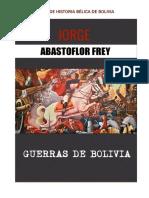 Jorge Abastoflor - Historia Bélica de Bolivia