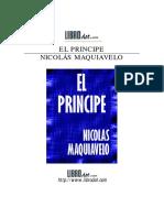 El principe, Maquiavelo