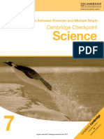 Cambridge Checkpoint Science Skills Builder 7