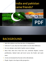 What if India and Pakistan Became Friends