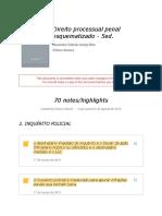 """Notes From """"Direito Processual Penal Esquematizado - 5ed."""""""