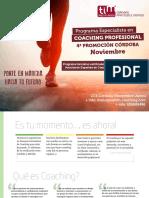 Programa Especialista en Coaching Profesional