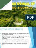 Pedoman Manual Op Embung Sidorejo