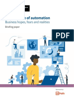 EIU UiPath the Advance of Automation Briefing Paper