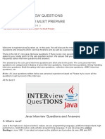 Top Java Interview Questions and Answer You Must Prepare