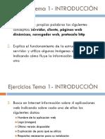 Ejercicios Aplicaciones Web