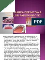Imobilizarea definitivă a dinților parodontotici.pptx