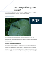 Climate and Pest
