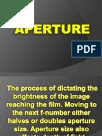 Aperture(Photography)
