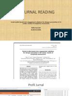 Journal Reading Komunikasi Penyakit Tropis