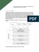 Conceitos de planejamento estratégico e de projeto