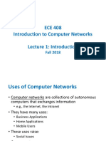 [Lecture 1] Introduction to Computer Networks