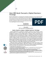 A1 -2 - SIa Et Al - How DBS Bank Pursued a Digital Business Strategy